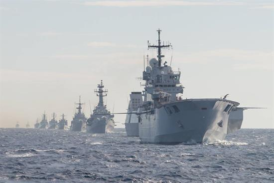 shape nato standing naval forces