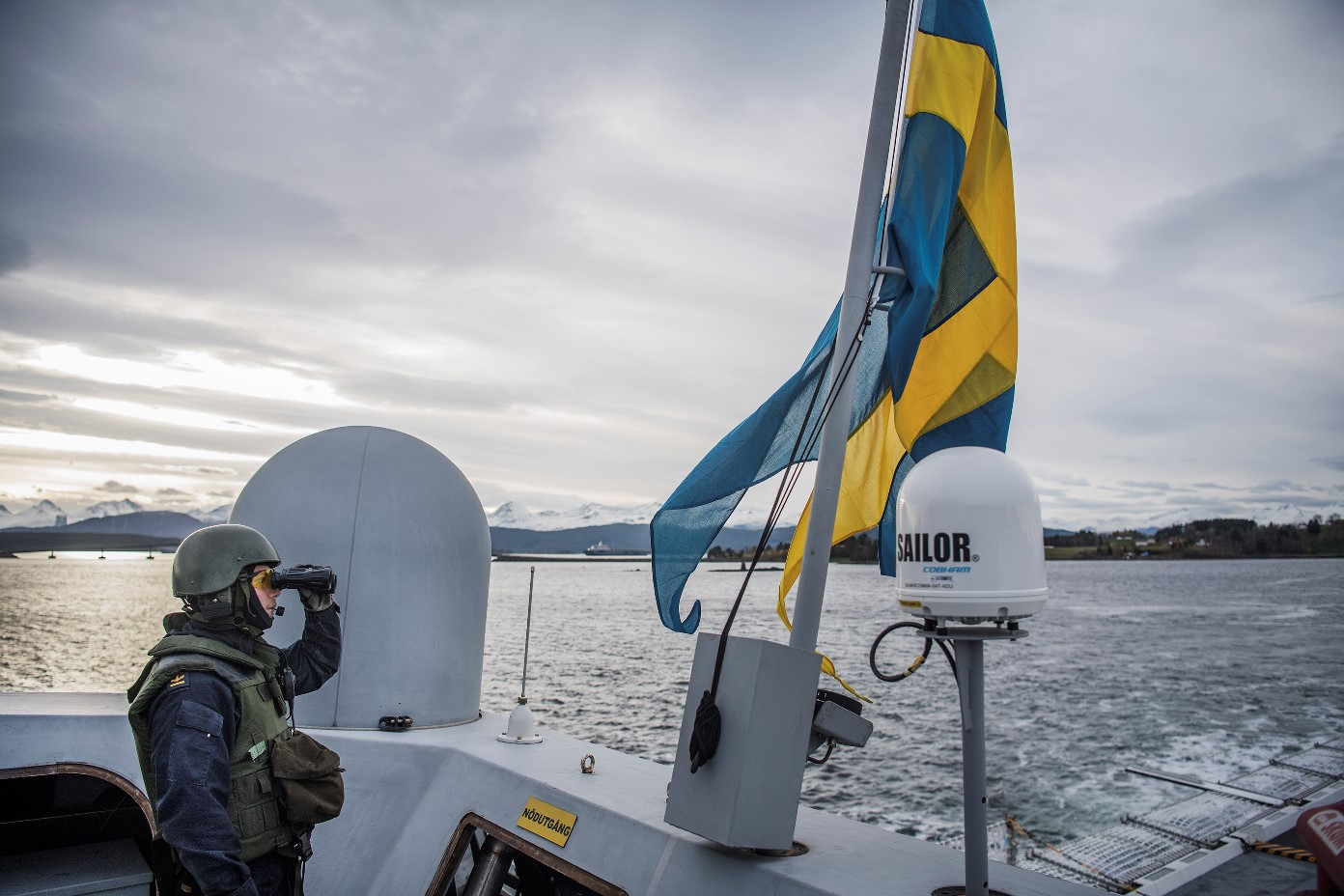 Swedish Armed Forces • NATO Military Maneuvers • Exercise Trident Juncture