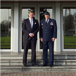 SACEUR welcomes Dutch King Willem-Alexander to Supreme Headquarters Allied Powers Europe