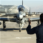 The Afghan Air Force gets four new A29s