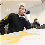 NATO Operation Sea Guardian Operating with NATO Shipping Centre Support