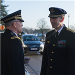 Swedish Chief of Defence visits SHAPE